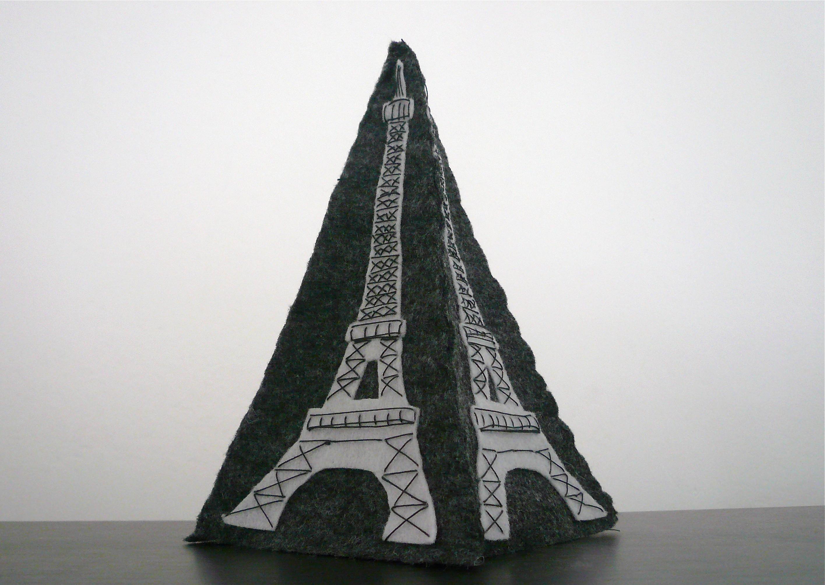 felt Eiffel Tower