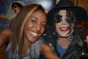 Mandi Kenny Wizz who is the official Las Vegas Michael Jackson Impersonator
