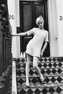 Twiggy, model 1960's, London, England
