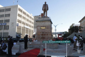 statue of Father  Zimbabwe