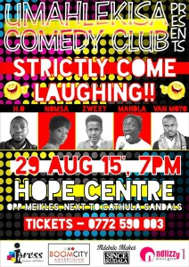 Umahlekisa Comedy Club Presents Strictly Come Laughing