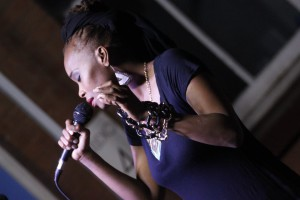 Maya Asiyah Roze @Acoustic Night  Picture: Intwasa Arts FestivalKobulawayo