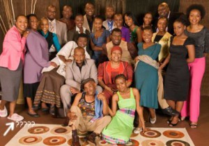 Vho - Mushasha with fellow Actors in A picture taken in 2007 Pic :tvsa.co.za