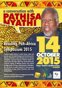 A Conversation With Pathisa Nyathi