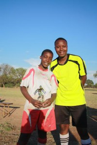 Player of the tournament: Mitchel Sibanda(Sobukazi) in red & white
