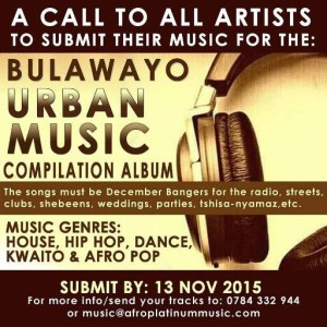 Bulawayo Urban Music Complilation Album