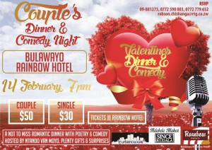 Couple's Dinner and Comedy Night