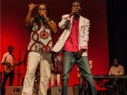khuliyo and Mjox On Stage Picture by Mgcini Nyoni