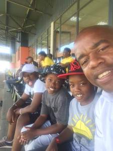 Esrom Nyandoro and his sons