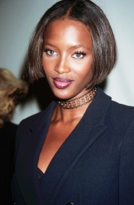 Model Naomi Campbell re-popularised the Choker Pic Source: http://www.whowhatwear.co.uk