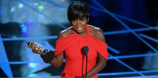 """Viola Davis won the supporting actress Oscar for her turn in """"Fences."""" (Picture Getty Images)"""
