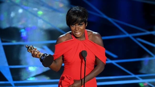 Viola Davis won the supporting actress Oscar for her turn in
