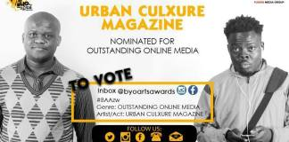 Vote Urban Culxure For Outstanding Online Media