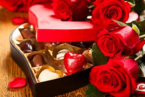 Boxed Chocolates and roses: Picture Source Online