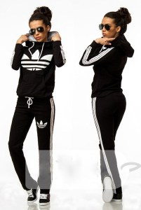 Black and White Tracksuits