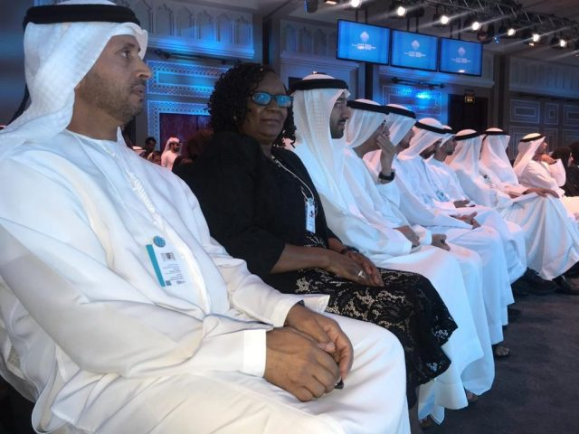 Minister of Environment, Tourism and Hospitality Industry Priscah Mupfumira at the World Government Summit 2019