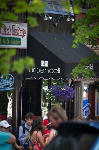 Urban Deli in July
