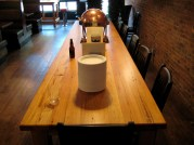 Our communal table