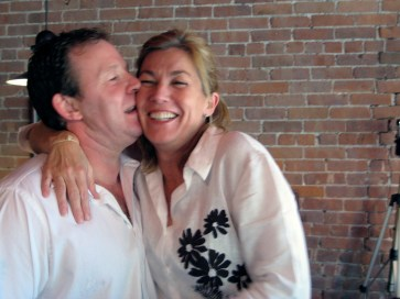 Urban Deli owner gets a kiss