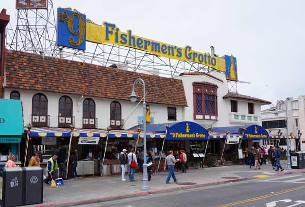 San Francisco Crab Restaurant Fishermans Wharf