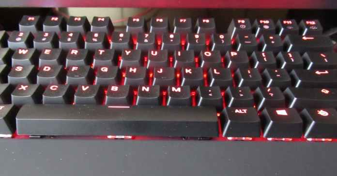 Steelseries Keyboard illumination