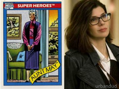 Captin America Civil War AUNT MAY