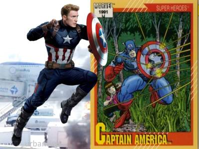Captin America Civil War CAPTAIN AMERICA