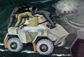 tank wall art