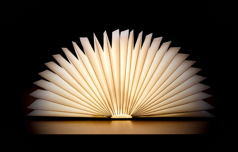 Glowing Book Lamps for YA Fans (GIVEAWAY!)