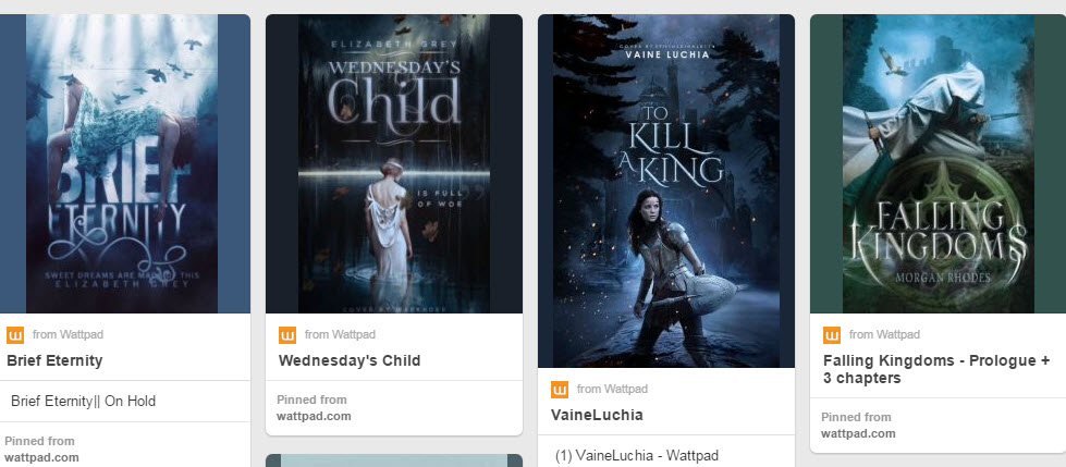 Any YA authors using Wattpad really well?