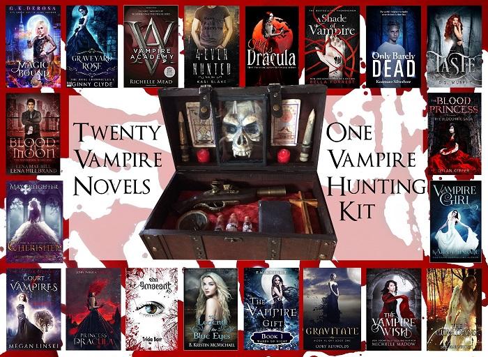 Best YA vampires books – giveaway!