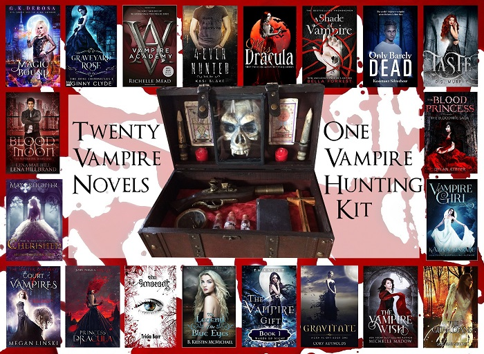 Best YA vampires books – giveaway!