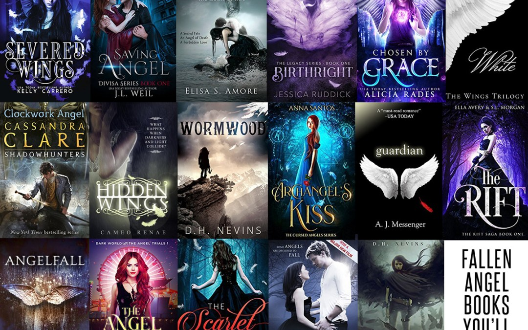 18 incredible Fallen Angel romances for young adult readers