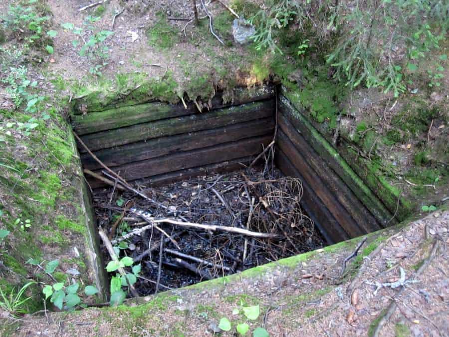 Mustavuoren bunkkerit