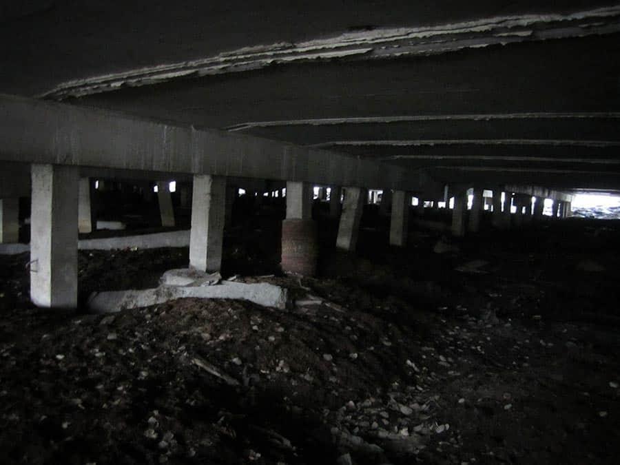 Helsinki betonikaton alla