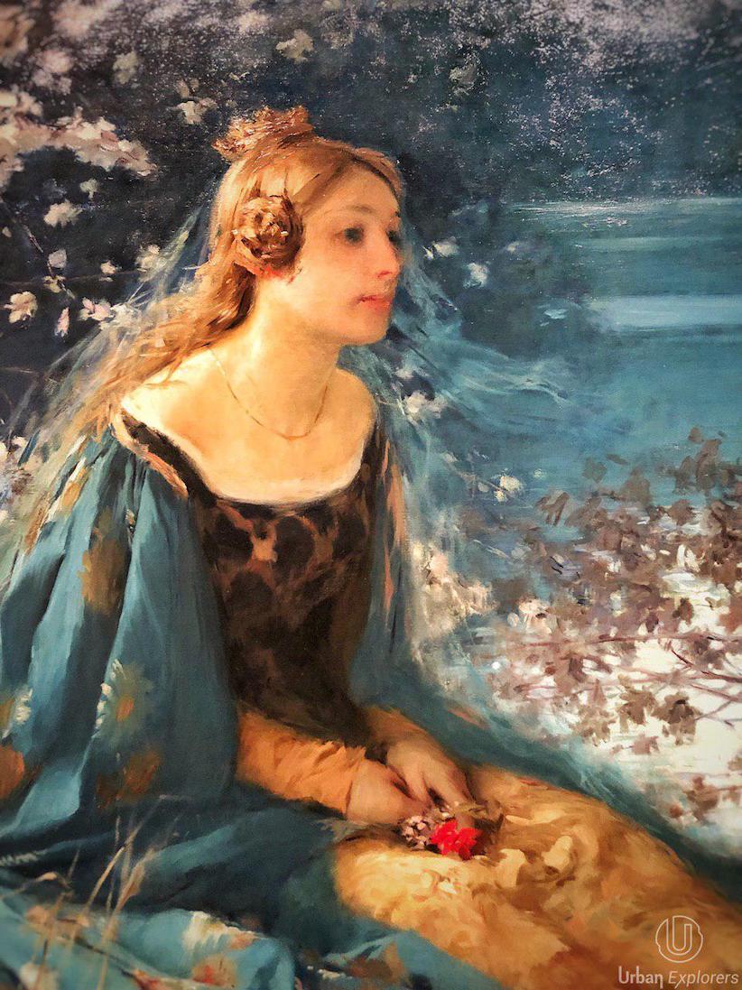 «Azul. El color del modernismo» en CaixaForum Sevilla