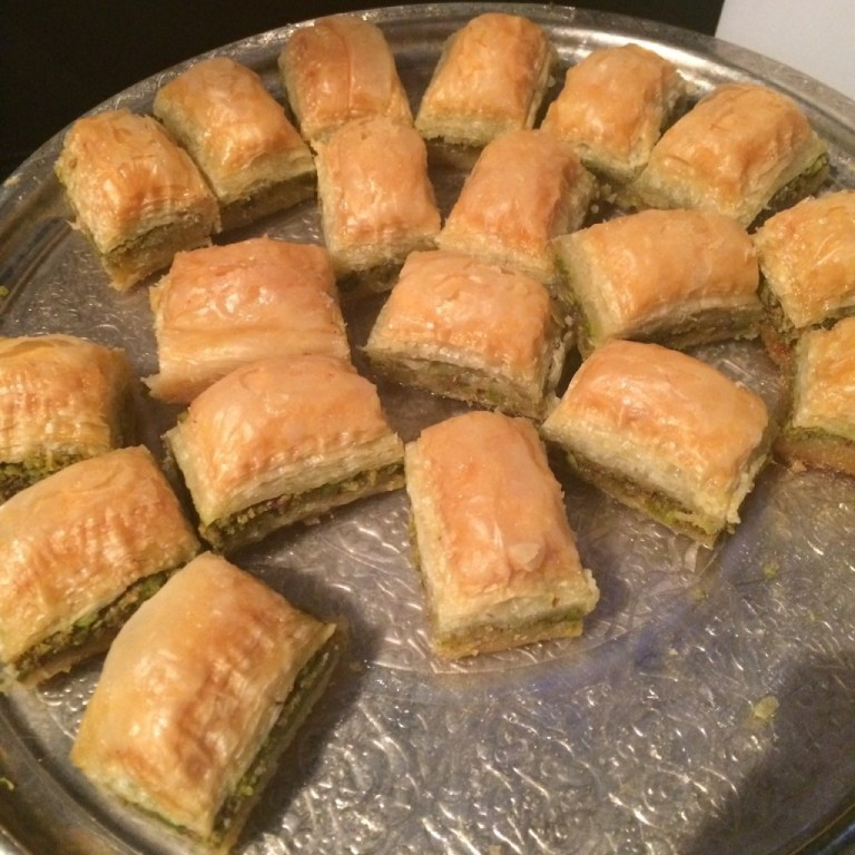 A few decadent pieces of gooey baklava later and it was time for me to board the inaugural flight to Miami