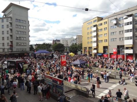 Kallio Block Party.