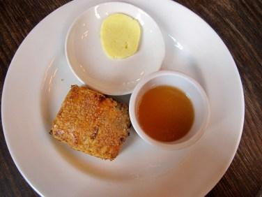 Rosemary mandarin scone