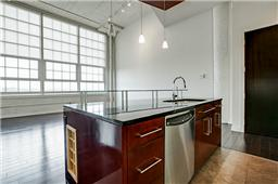 Open Floor plan in unit 1721