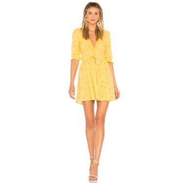 For Love & Lemons - Eyelet Swing Dress