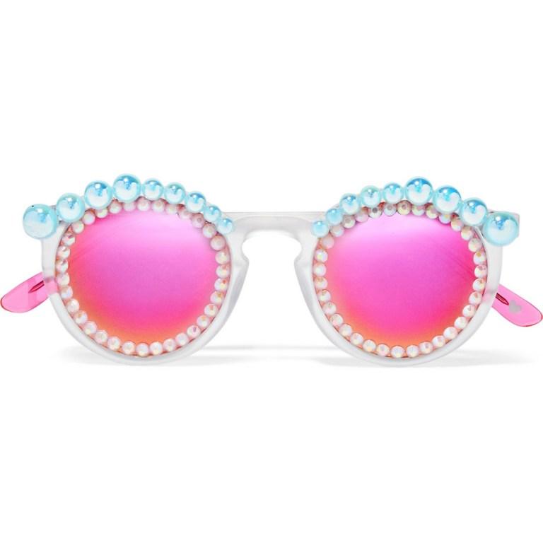 Freda Banana - Lulu Mirrored Sunglasses