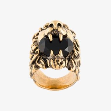 Gucci - Lion Head Ring