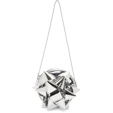 Maison Martin Margiela - Silver Bow Shoulder Bag