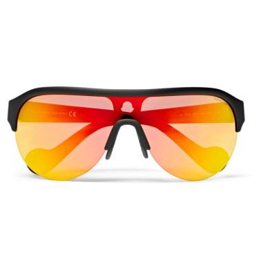 Moncler - Round-Frame Polarised Sunglasses