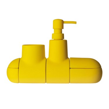 Seletti - Submarino Bathroom Accessory Yellow