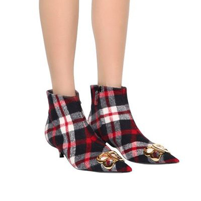 Balenciaga - Flannel Ankle Boots
