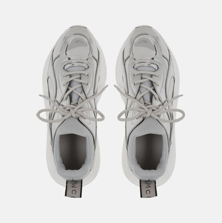 Stella McCartney - Eclypse Silver Sneakers