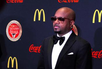 Jermaine Dupri on carpet