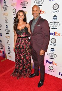 Salli Richardson (L) and Dondre Whitfield _preview